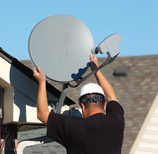 freesat dish installer