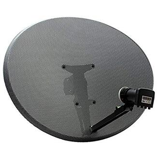 satellite dish with lnb for sky or freesat